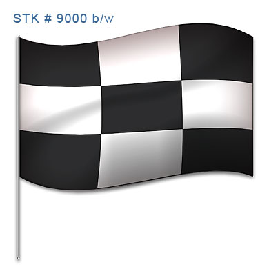 NYLON CHECKERED FLAGS (VARIOUS SIZES)